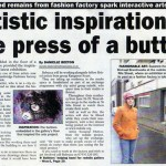 Artcast Sunderland Echo Wed 20th June Pg12