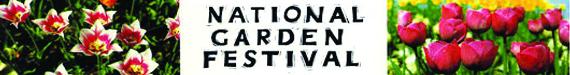 garden festival banner copy
