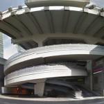 Ny space view: concrete carpark